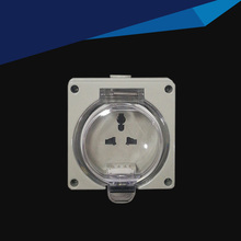 IP66 Waterproof Dust-proof Outdoor Wall Power Socket, 13A Universal  Electrical Outlet Industrial Socket