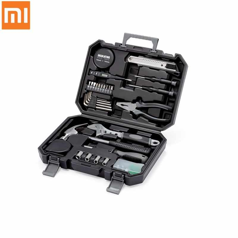 Xiaomi JIUXUN Multi-Function Toolbox 12/60in1Set Household Maintenance Screwdriver Storage Box Repair Case Wrench Utility Knife