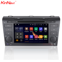 KiriNavi quad core Android 7,1 аудио автомобиля для Mazda 3 2004 2009 с мультимедийной системой Wi Fi, 3g, bluetooth 1024x600HD Mp3/Mp4