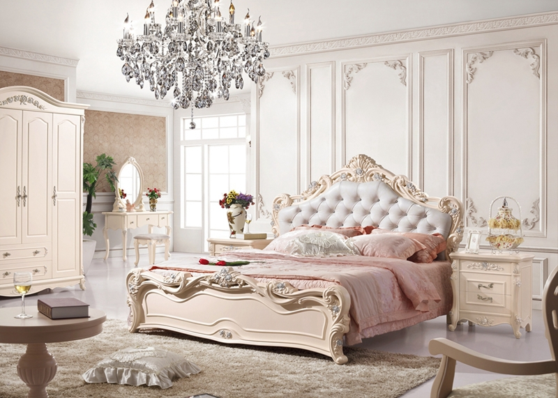 Latest wedding master bedroom furniture design py 6001-in ...