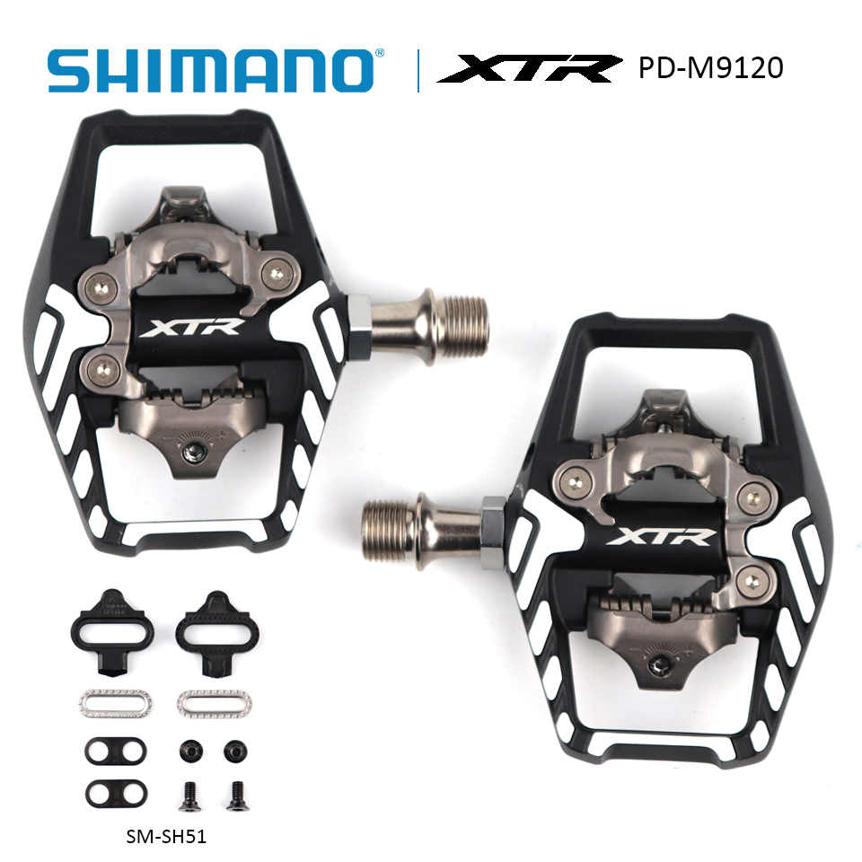 NIB SHIMANO XTR PD-M995 PEDALS SM-SH51 CLEATS LIMITED EDITION SPD 25 YEARS