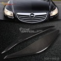 for Vauxhall Opel Insignia A  Headlight Eyebrow Eyelid Carbon fiber 2008-2013 [1011150.]