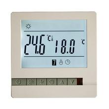 LCD מסך טרמוסטט חם רצפת חימום מערכת Thermoregulator AC200 240V טמפרטורת בקר