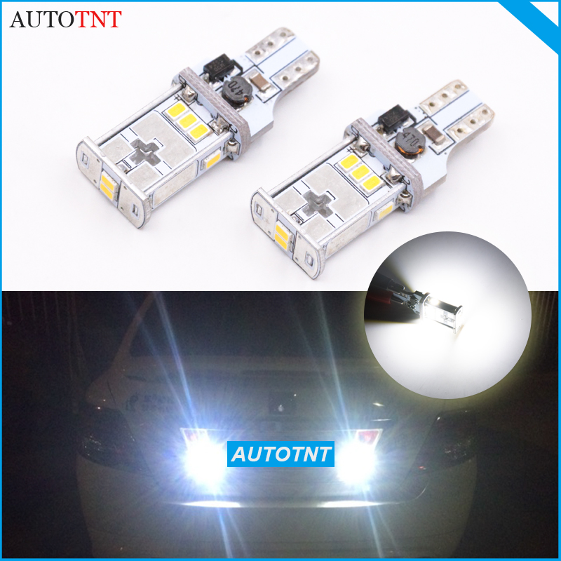 2x T15 W16W 912 921 LED Bulb Car Back Up Reverse Lights Xenon White Canbus For <font><b>BMW</b></font> E88 <font><b>E82</b></font> E87 E71 128i <font><b>135i</b></font> 2008-2013 image