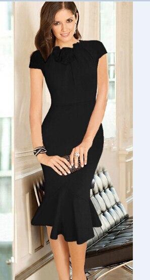 Black Career Dresses 2015