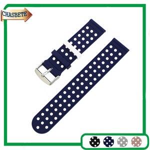 Силиконовая резинка часы для Panerai luminor Radiomir 22 мм 24 мм Для мужчин Для женщин Смола ремень петли на запястье браслет черный серый