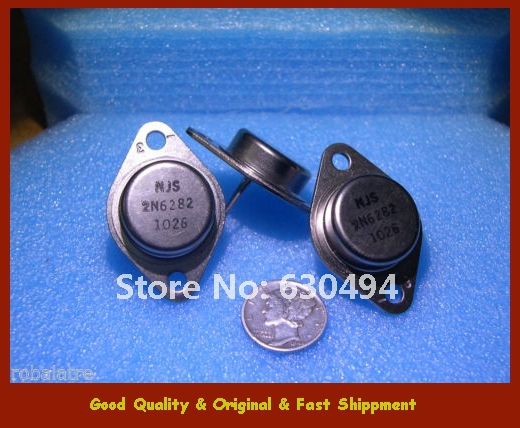 Free Shipping Qty-3 2N6282 NPN POWER DARLINGTON TRANSISTOR TO-3 NJS NEW kd621k30 prx 300a1000v 2 element darlington module