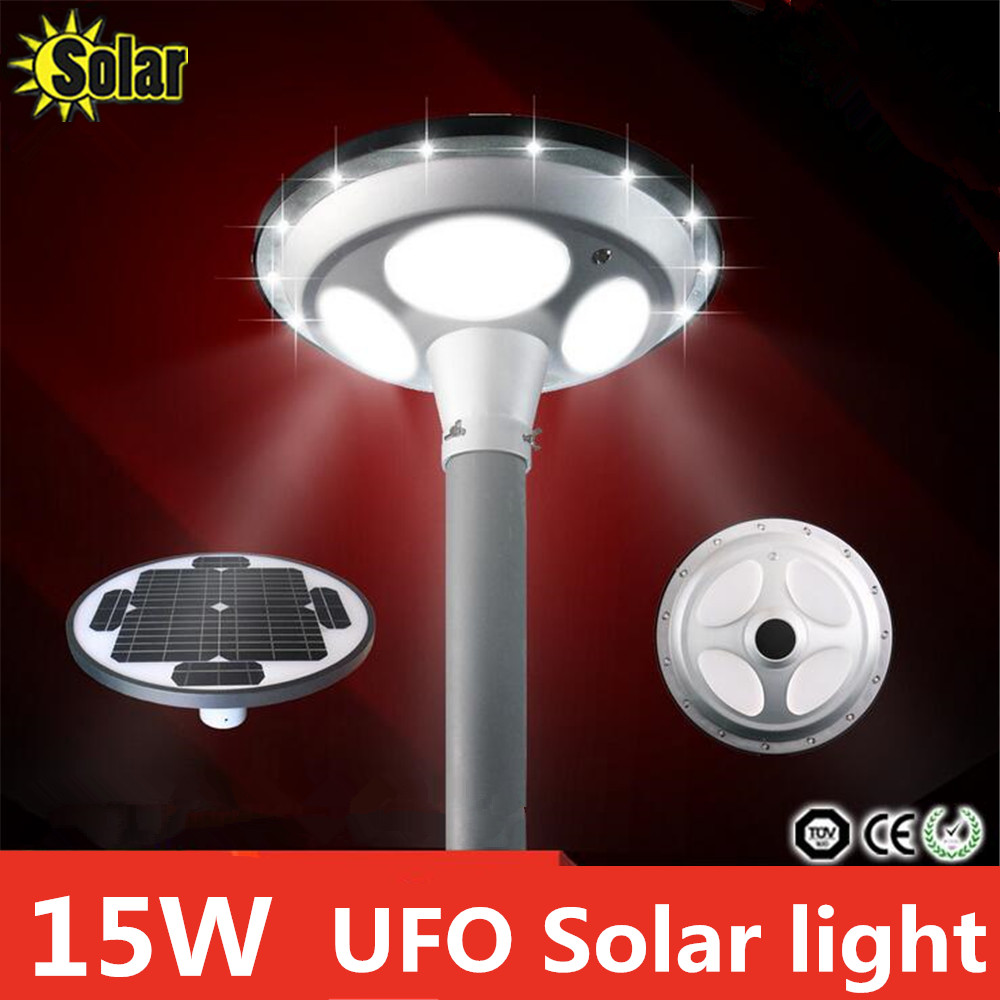 2016new super bright 15w ufo all in one led solar street for Bright lights design center