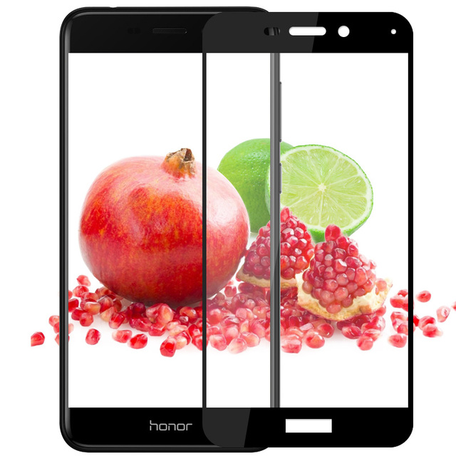 Full Cover Tempered Glass For Huawei Honor 6C Pro Screen Protector For...
