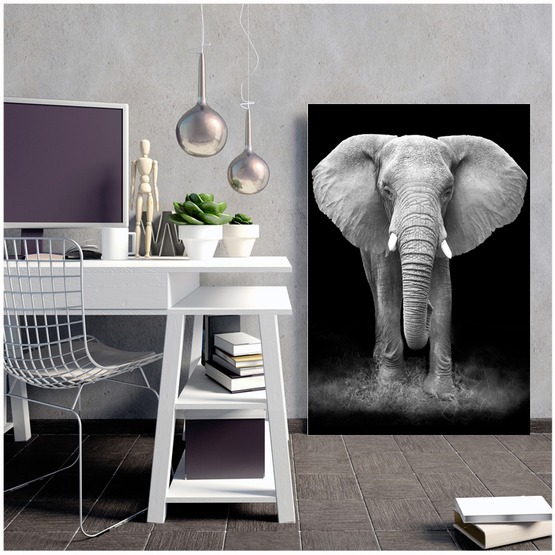 Olifant Elephant Canvas Painting Posters And Prints Art Print Portal Picture Abstract Painting Naruto Kids Decoration Castelli Pets Garden Hot Products