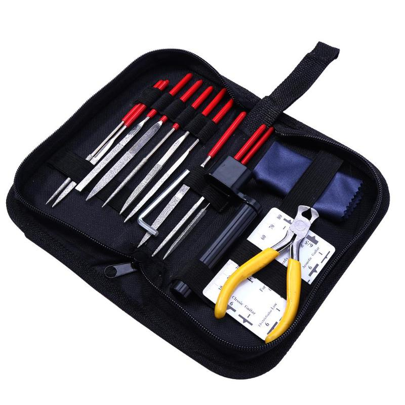 15pcs set guitar care tool repair maintenance cleaning tool set for acoustic electric bass. Black Bedroom Furniture Sets. Home Design Ideas