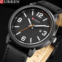 Новый Элитный бренд Curren мужские классические военные часы Мужские кварцевые часы с датой мужские спортивные наручные часы Relogio Masculino