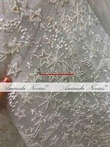 Image 5 - Amanda Novias brand trouwjurk lange mouwen bruid jurk 2019
