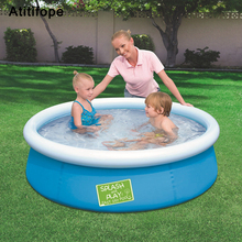 Big Size Butterfly Top inflatable Thicken oversized girls boys paddling pool family children's pool Summer Water Play Pool