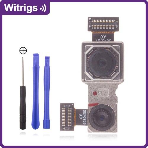 WITRIGS For Original Xiaomi Redmi Note 5 Pro Rear Camera Back Camera Flex Cable Repair Replacement Parts Mobile Phone Flex Cables     - title=