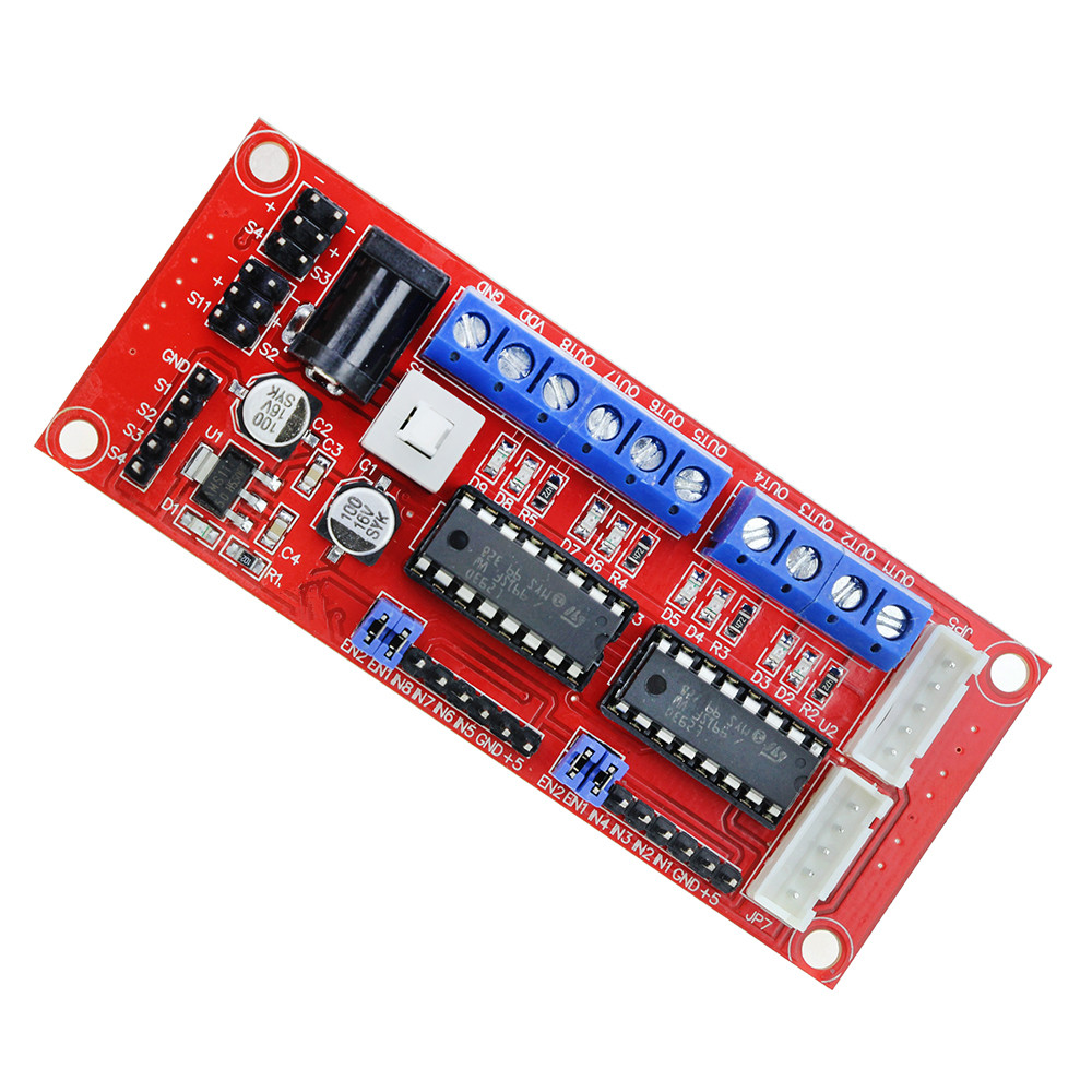 4 DC Motor Driver Module / 4WD Car / L293D Module Smart Car Robot for arduino Diy Kit