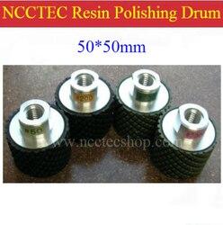 2 NCCTEC Diamond resin polishing drum wheels FREE shipping | 50*50mm Cylinder type polishing pad | FREE fast shipping