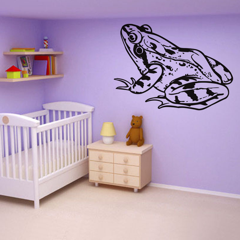 Popular frog wall stickers buy cheap frog wall stickers for Frog bedroom ideas