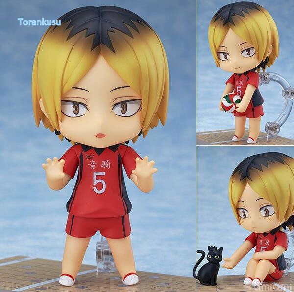 Haikyuu Action Figure Kozume Kenma Nendoroid 605# 10CMM Haikyuu Nendoroid kozumekenma Model Toy Doll Volleyball Figure 1