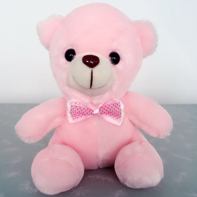 Glow Teddy Bear with Luminous LED 8""