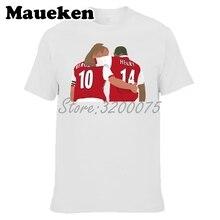 a431eda2146 Men Highbury Legends Dennis Bergkamp  10 and Thierry Henry  14 T-shirt T