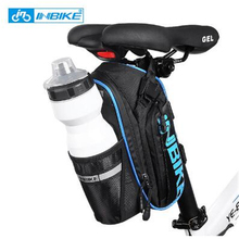 INBIKE Bicycle Saddle Bag Waterproof MTB Bike Rear Bags Seatpost Cycling Tail Bag SX510