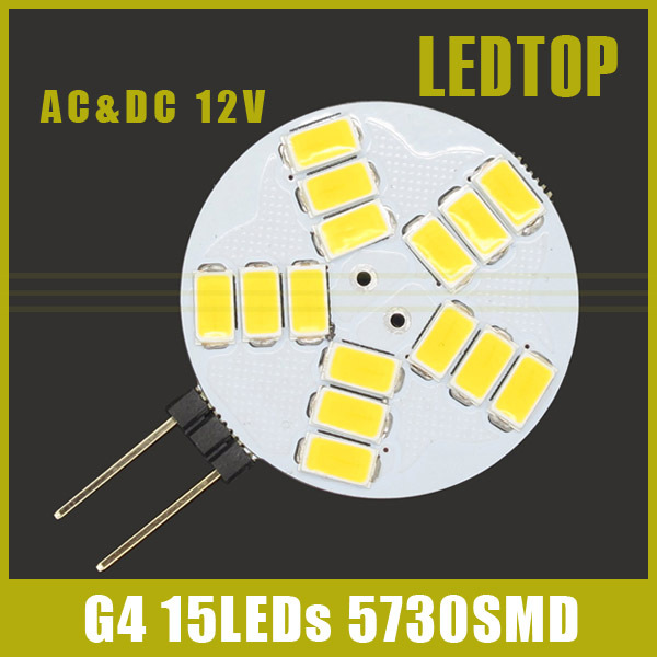 G4 AC DC 12V Led Lamp 5W High Power 5730SMD Replace Halogen Lamp 180 Beam Angle LED Bulb Lamps Warranty Lamparas