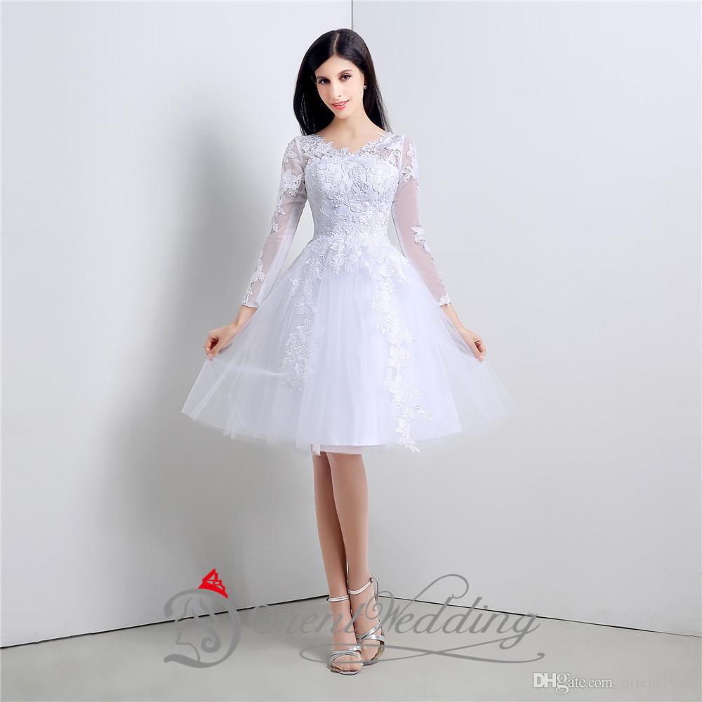 Gangster Sexy Short Wedding Dress