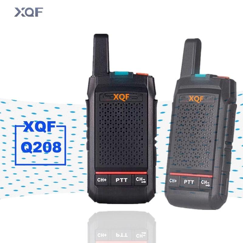 XQF Mini Walkie Talkie Q208 Handheld Interphone Outdoor Walkie-Talkie For Hotel Beauty Salon