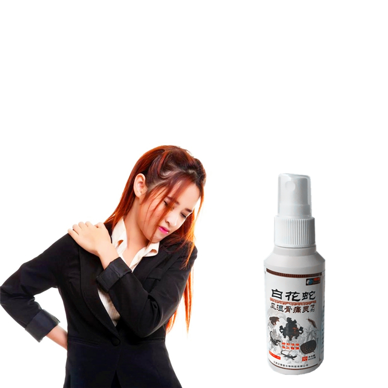 all kinds of pain Alleviate Pain Cool Feeling 80ml/bottle Migraine Rheumatism Arthritis Muscle Massage Essential Oil Spray image