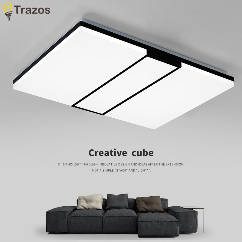 2017 Modern LED ceiling light simple decoration fixtures study dining room balcony bedroom living room ceiling lamp ceiling lighting minimalist modern balcony study bedroom lighting led intelligent atmospheric living room dining room