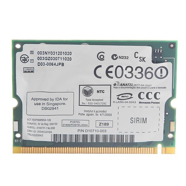 HP Compaq nc6140 Notebook Broadcom LAN Drivers Windows