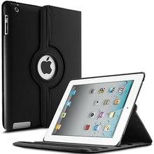 360 Вращающийся PU кожаный чехол для Apple iPad 2 iPad 3 iPad 4 магнит Смарт защитные рукава планшеты iPad 2 3 4 + плёнки ручка
