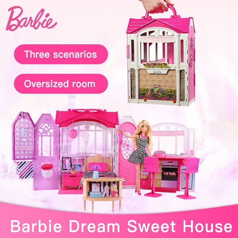 barbie in a dream house games