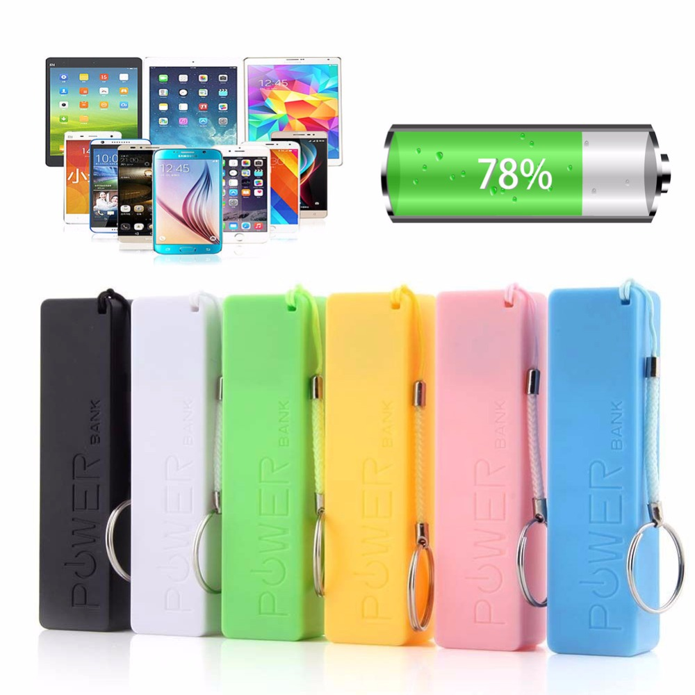 OOTDTY Portable Power Bank USB Mobile Charger Pack Box Battery Case For 1 x 18650 DIY diy dual usb mobile power bank charging circuit board w case blue 4 x 18650
