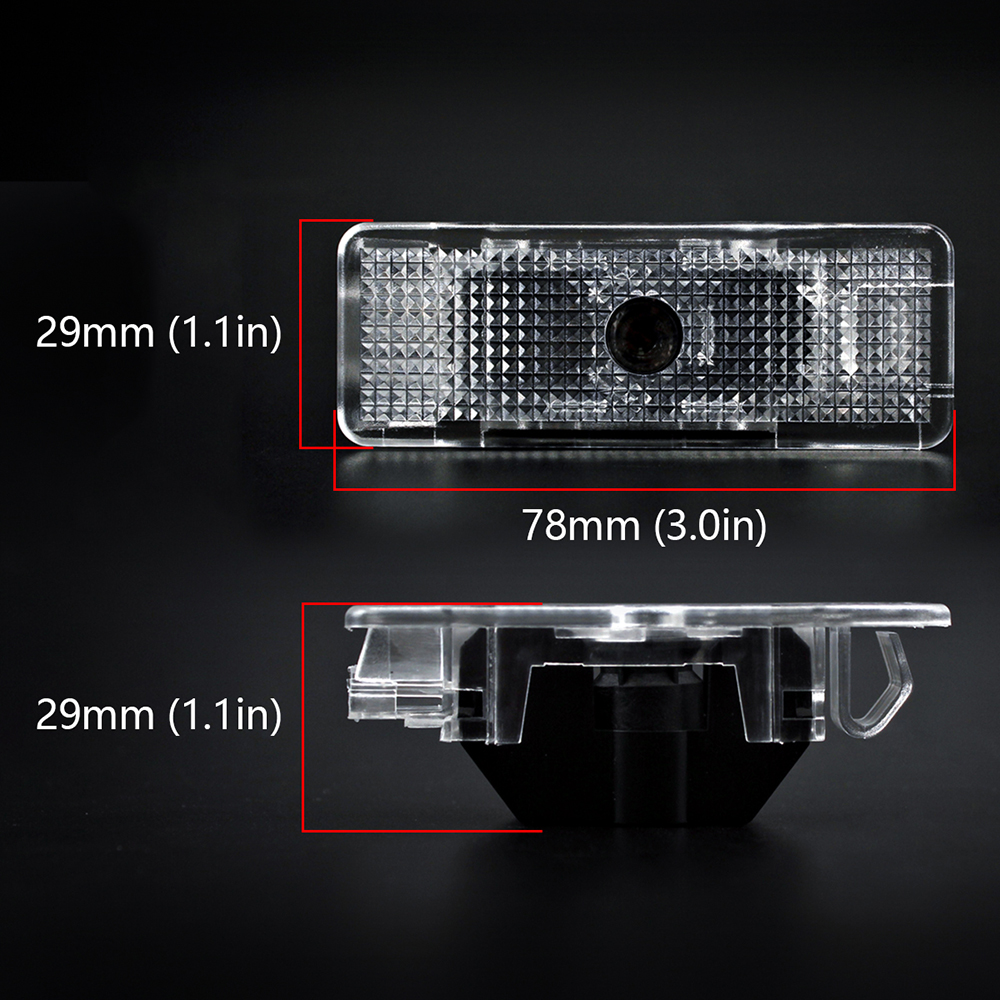 4pcs Car Door LED Light for BMW E39 Logo Auto Laser Projector Ghost Shadow Ambient Welcome Lamp Emblem Decorative Car Styling in Decorative Lamp from Automobiles Motorcycles