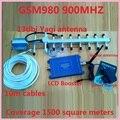 13 dbyagi + pantalla LCD! GSM 980 900 mhz potenciadores de la señal del teléfono móvil, teléfono celular GSM repetidor de señal gsm amplificador de señal