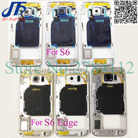 5Pcs A Quality Middle Frame For Samsung Galaxy S6 Edge G925F G925A G925T Middle Housing Replacement
