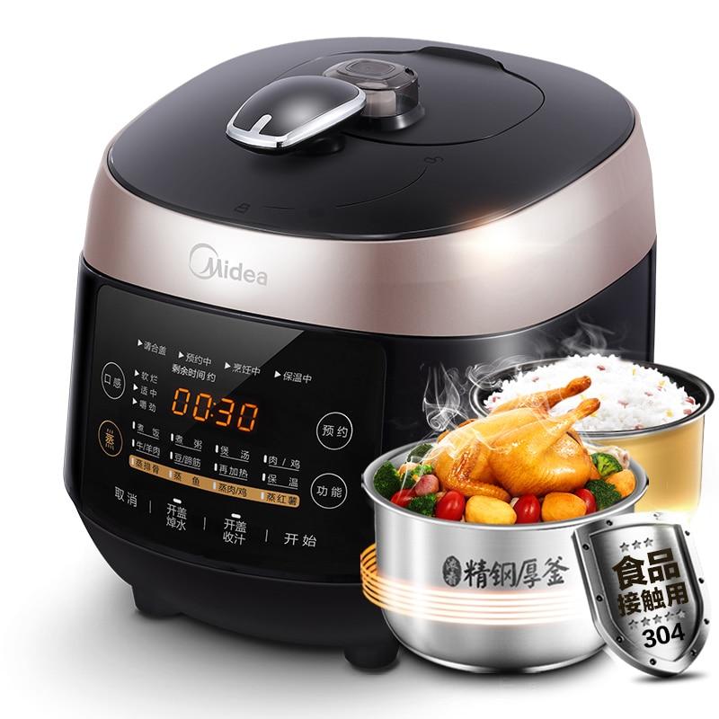 Midea WQS50F3 autocuiseur électrique Double Bile véritable 5L 4-6 personnes accueil Intelligent autocuiseur cuiseur à riz