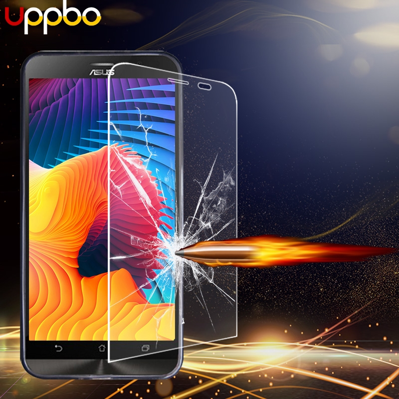 Uppbo Tempered Glass For Asus Zenfone Go 5 ZB452KG ZB500KL ZB551KL ZC500TG ZC451TG Live ZB501KL 2 Laser ZS571KL Screen Glass