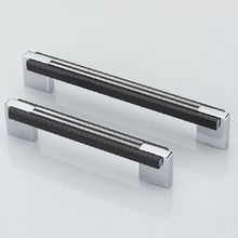 5 «Черный кухонный шкаф ручки хром блестящий серебряный шкаф ящик мебель ручка тянет комод шкаф тянуть ручки 128 мм