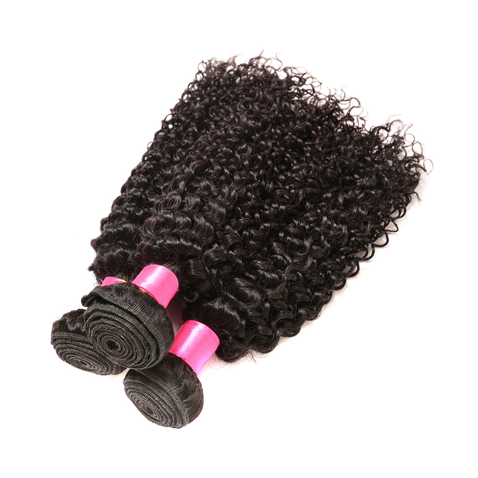 Human Hair 3 Bundles Brazilian Kinky Curly Hair Bundles Remy Human Hair Weave Bundles Beauty On Line Human Hair Extensions BOL