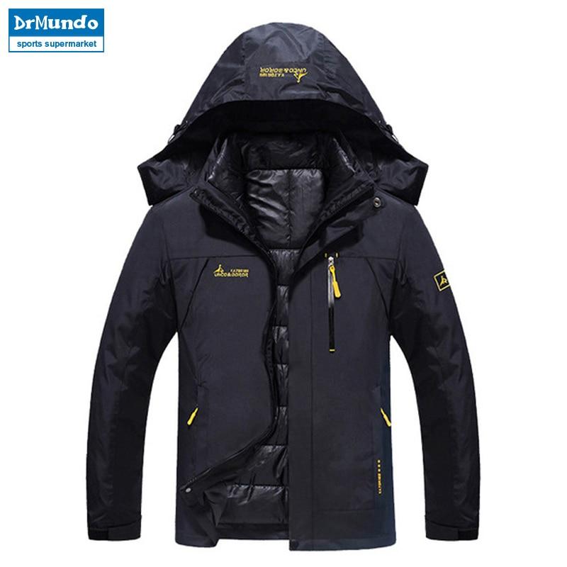 Ski Jacket Men Waterproof Snow Jacket Thermal Coat For Outdoor Mountain Skiing Snowboard Jacket Plus Size