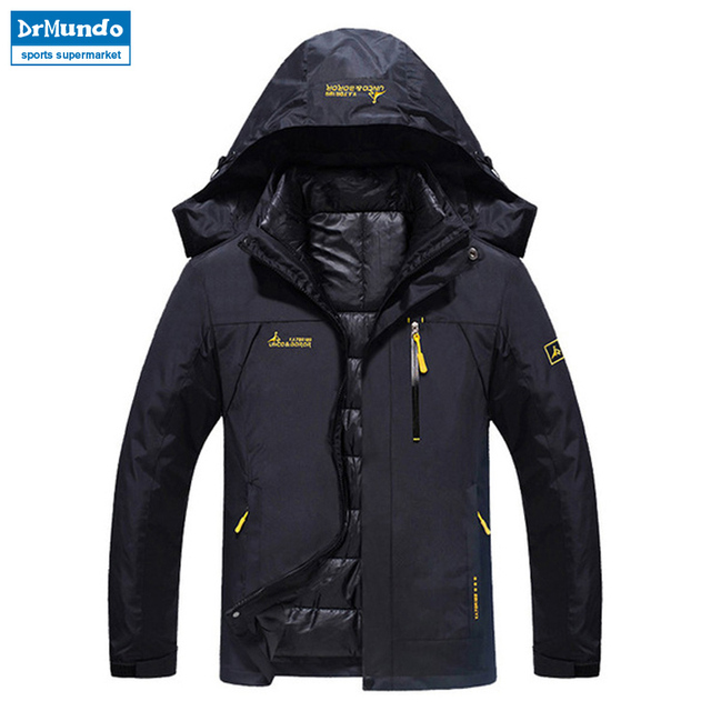 Ski Jacket Men Waterproof Snow Jacket Thermal Coat For Outdoor Mountain  Skiing Snowboard Jacket Plus Size Brand 631cbfb28