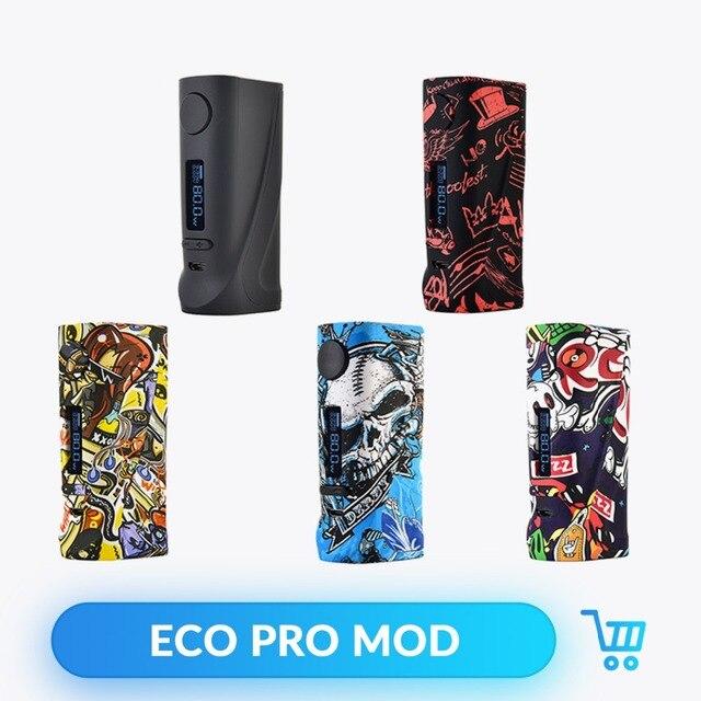 Vapor Storm ECO Pro Doos Mod ABS Vape 5 80 W Variabele Power Elektronische Sigaret ECO Pro Vape 510 draad Spport Leeuw Hawk Tank