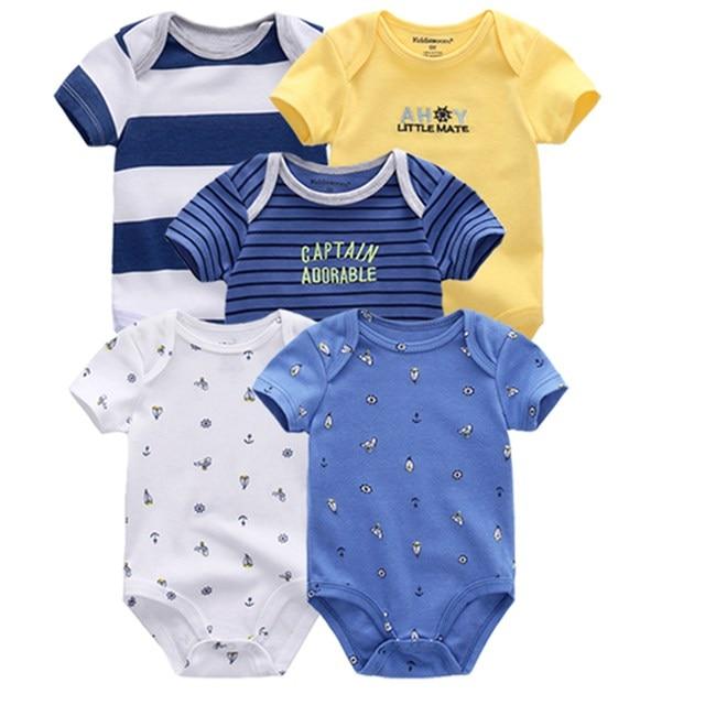 Kiddiezoom детские комбинезоны пижамы для маленьких девочек Дети Bebe Infantil одежда для новорожденных одежда из хлопка Одежда для маленьких мальчиков, Товары для детей - Цвет: baby romper 5068