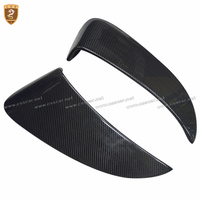 Real Carbon Fiber Side Vents Fit For Porsche 718 Boxster Cayman 2016 2017 GT4 Style Side Air Intakes Vents Auto Accessories