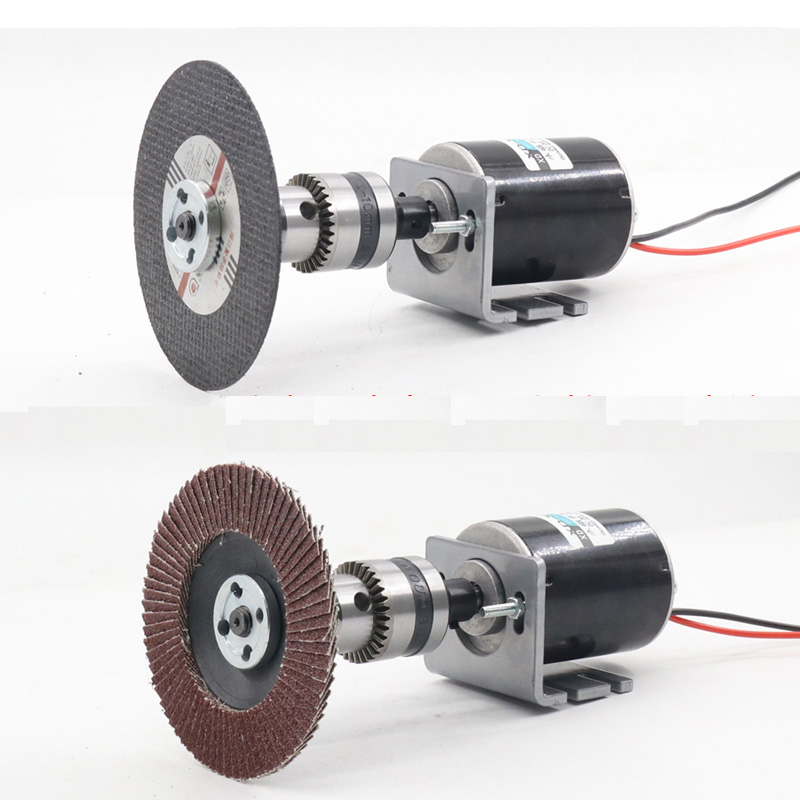 3420 12V Permanent Magnet DC Motor 24V High Speed Motor 30W Miniature Motor DC Speed Regulating Motor in DC Motor from Home Improvement