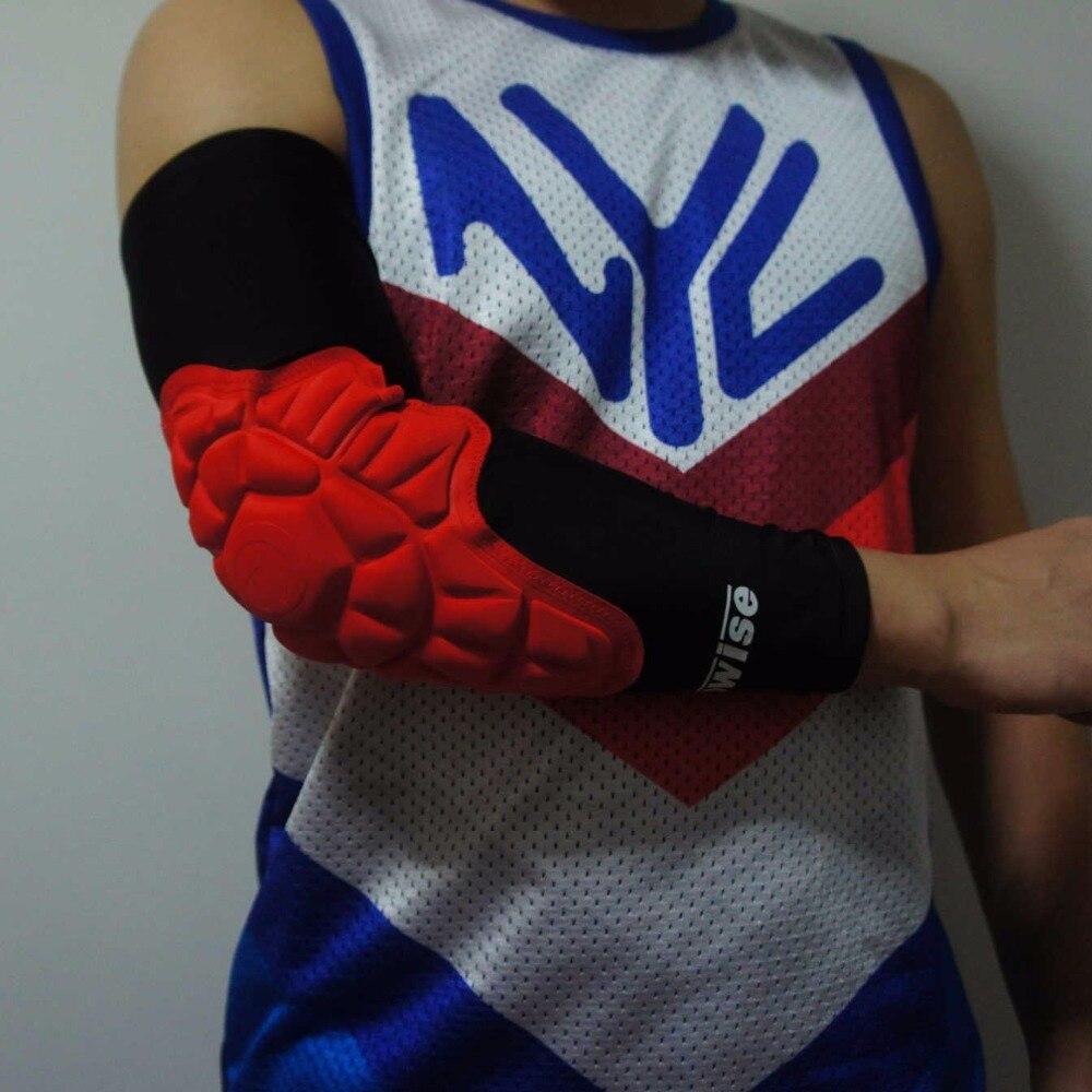 1 pièce Basketball anticollision bracer séchage rapide FootBall coudières bande musculaire basketball bras manchon coude soutien protecteur