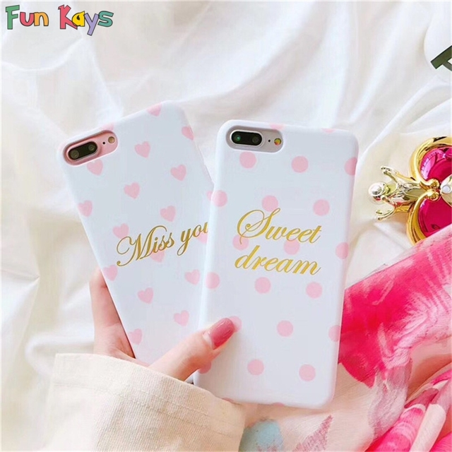 Fun Kays Sweet Dream Miss You Love Letters Couple Lovers Pink Heart